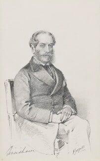 William Ernest Duncombe, 1st Earl of Feversham, by Frederick Sargent - NPG 1834(l)