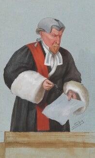 William Ventris Field, 1st Baron Field, by Sir Leslie Ward - NPG 2713