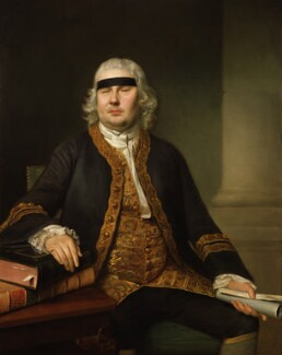Sir John Fielding, by Nathaniel Hone - NPG 3834