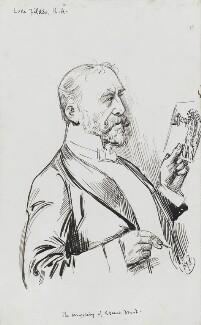 Luke Fildes, by Harry Furniss - NPG 3570