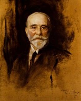 Luke Fildes, by Philip Alexius de László - NPG 4960