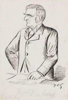 Robert Bannatyne Finlay, 1st Viscount Finlay, by Sir Francis Carruthers Gould ('F.C.G.') - NPG 2836