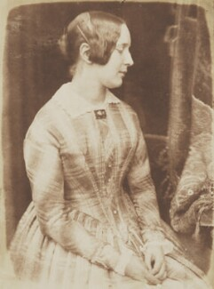Sophia Finlay, by David Octavius Hill, and  Robert Adamson, 1843-1848 - NPG P6(118) - © National Portrait Gallery, London