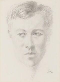 Ronald Firbank, by Augustus John - NPG 4600