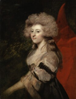 Maria Anne Fitzherbert (née Smythe), by Sir Joshua Reynolds, circa 1788 - NPG  - By consent of the owners; on loan to the National Portrait Gallery, London; photograph © National Portrait Gallery, London