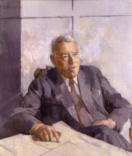 Alexander Fleck, Baron Fleck, by Sir Lawrence Gowing, 1957 - NPG 4662 - © National Portrait Gallery, London
