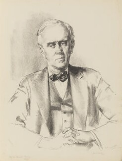 Alexander Fleming, by James Ardern Grant - NPG 5085