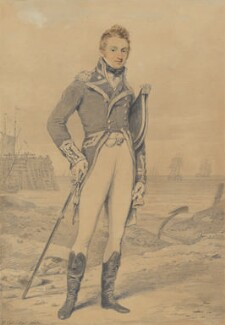 Sir Thomas Foley, by Henry Edridge - NPG 1459