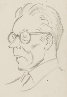 Michael Foot, by Sir David Low - NPG 4529(130)