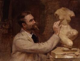 (Edward) Onslow Ford, by John McLure Hamilton, 1893 -NPG 1866 - © National Portrait Gallery, London
