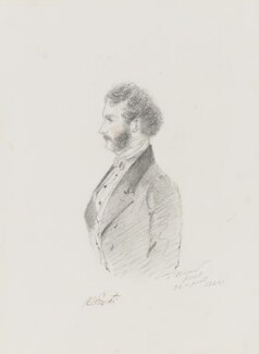George Cecil Weld Weld-Forester, 3rd Baron Forester, by Alfred, Count D'Orsay, 1844 - NPG 4026(24) - © National Portrait Gallery, London
