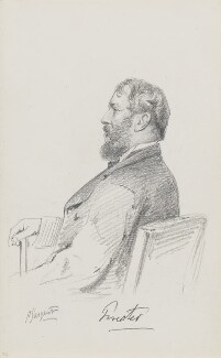 George Cecil Weld Weld-Forester, 3rd Baron Forester, by Frederick Sargent - NPG 1834(m)