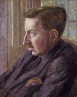 E.M. Forster, by Dora Carrington, 1920 - NPG  - © National Portrait Gallery, London