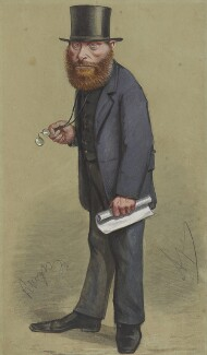 William Edward Forster, by Carlo Pellegrini - NPG 5153