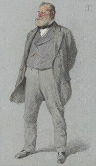Sir Robert Fowler, 1st Bt, by Théobald Chartran ('T'), published in Vanity Fair 25 June 1881 - NPG 2571 - © National Portrait Gallery, London