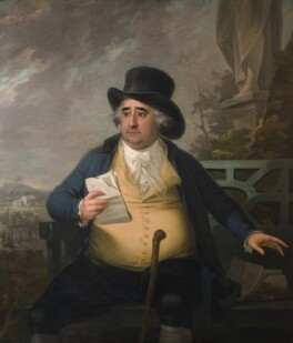 Charles James Fox, by Karl Anton Hickel - NPG 743
