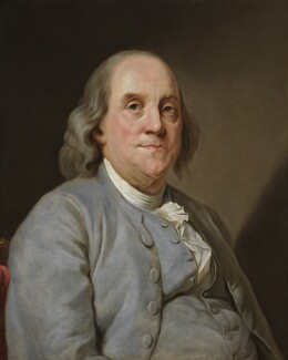 Benjamin Franklin, after Joseph Siffred Duplessis, based on a work of 1783 - NPG 327 - © National Portrait Gallery, London