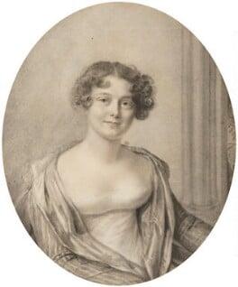 Jane, Lady Franklin, by Amélie Romilly, 1816 - NPG  - © National Portrait Gallery, London