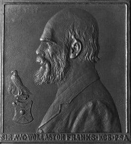 Sir Augustus Wollaston Franks, by Charles J. Praetorius, circa 1898 - NPG 1584 - © National Portrait Gallery, London