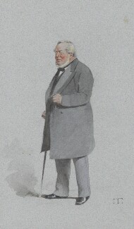 Sir Charles James Freake, 1st Bt, by Théobald Chartran ('T'), published in Vanity Fair 31 March 1883 - NPG 2574 - © National Portrait Gallery, London