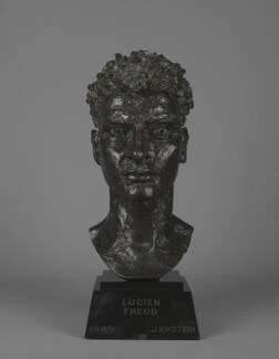 Lucian Freud, by Jacob Epstein - NPG 5199