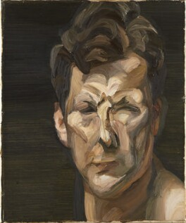 Lucian Freud, by Lucian Freud, 1963 - NPG  - © The Lucian Freud Archive / Bridgeman Images
