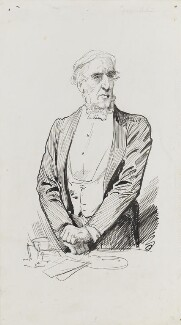 James Anthony Froude, by Harry Furniss - NPG 3449