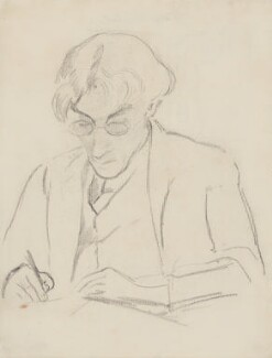 Roger Fry, by Jean Marchand, 1920 - NPG 4570 - © National Portrait Gallery, London