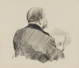 Harry Furniss, by Sydney Prior Hall - NPG 2386