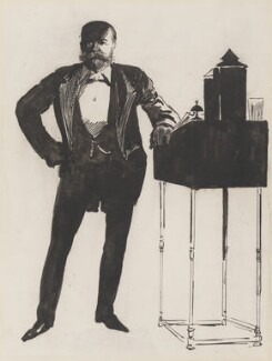 Harry Furniss, by Harry Furniss, circa 1890 -NPG 3039 - © National Portrait Gallery, London