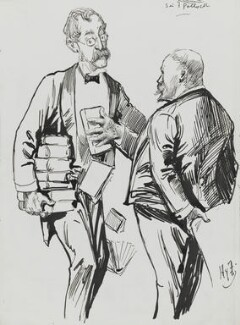 Sir Frederick Pollock, 3rd Bt; Harry Furniss, by Harry Furniss - NPG 3599