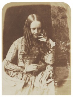 Justine Gallie (née Monro), by David Octavius Hill, and  Robert Adamson - NPG P6(110)