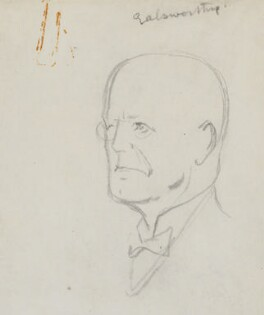 John Galsworthy, by Sir David Low - NPG 4529(132)