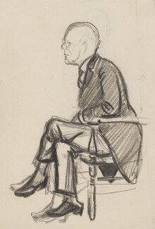John Galsworthy, by Sir David Low - NPG 4529(135)