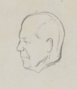 John Galsworthy, by Sir David Low - NPG 4529(136)