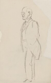 John Galsworthy, by Sir David Low - NPG 4529(138)