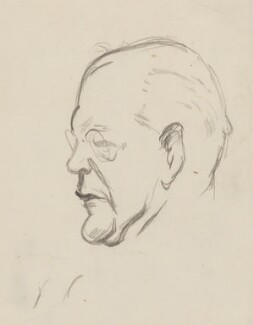 John Galsworthy, by Sir David Low - NPG 4529(140)