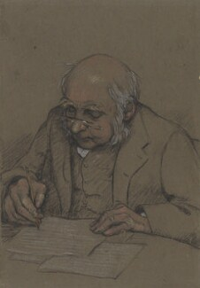Sir Francis Galton, by Janet Caroline Fisher - NPG 3095