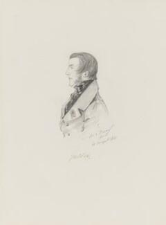 Alan Legge Gardner, 3rd Baron Gardner, by Alfred, Count D'Orsay - NPG 4026(27)