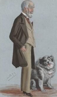 Alan Legge Gardner, 3rd Baron Gardner, by Sir Leslie Ward, published in Vanity Fair 21 January 1883 - NPG 3287 - © National Portrait Gallery, London