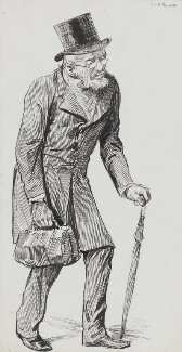 Richard Garnett, by Harry Furniss - NPG 3451