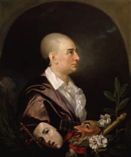 David Garrick, studio of Johan Joseph Zoffany, 1763 - NPG 1167 - © National Portrait Gallery, London