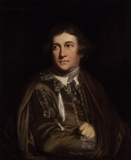David Garrick as Kitely in 'Every Man in his Humour', after Sir Joshua Reynolds - NPG 4504