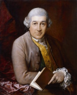 David Garrick, by Thomas Gainsborough - NPG 5054