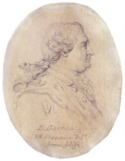 David Garrick, by John Keyse Sherwin - NPG 1187