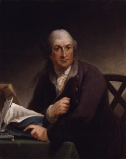 David Garrick, by Robert Edge Pine - NPG 82