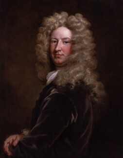 Sir Samuel Garth, by Sir Godfrey Kneller, Bt - NPG 3208
