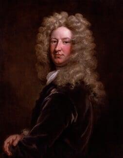 Sir Samuel Garth, by Sir Godfrey Kneller, Bt, circa 1705 - NPG 3208 - © National Portrait Gallery, London