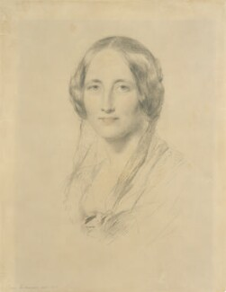 Elizabeth Gaskell, by George Richmond, 1851 - NPG  - © National Portrait Gallery, London