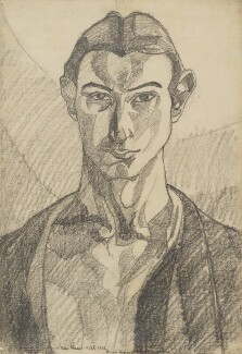 Henri Gaudier-Brzeska, by Henri Gaudier-Brzeska, 1912 - NPG  - © National Portrait Gallery, London